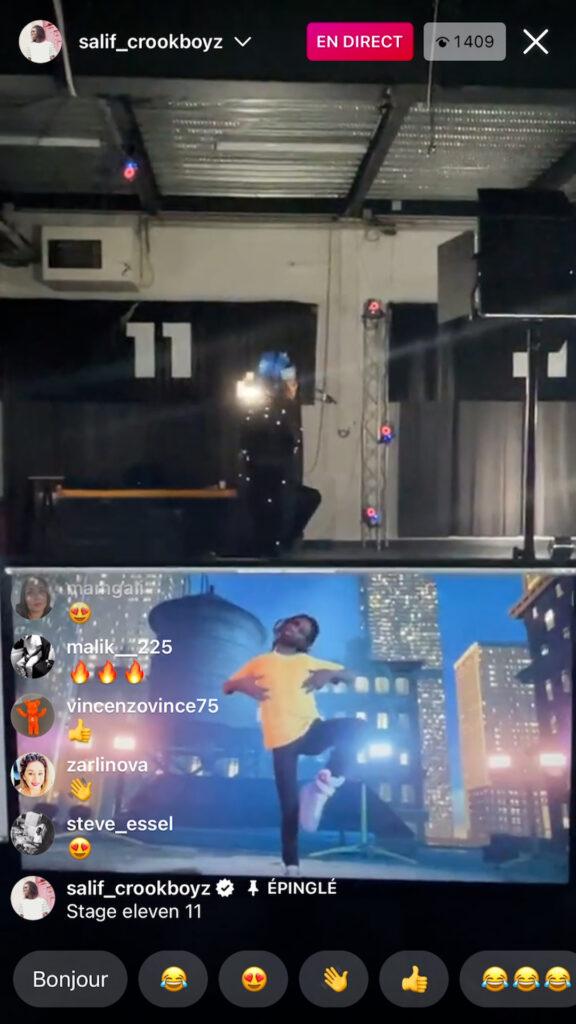 Rooftop Tech Demo Instagram Live